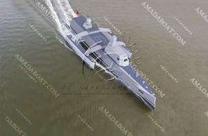 3A5525 (Hunter) Trimaran Stealth Submarine Chaser