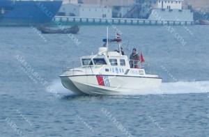 3A1000b(Dolphin)High-speed Catamaran Patrol Boat