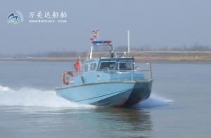 3A1020(ChineseRiver Dolphin)High-speed Catamaran Patrol Boat