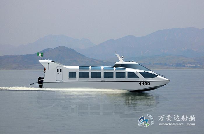 3A1148(Eyas) Wave-suppression Trimaran Crew Boat