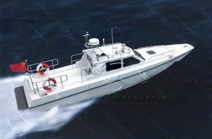 3A1182(Flying Leo)Coastal Super-High-speed Motor Boat