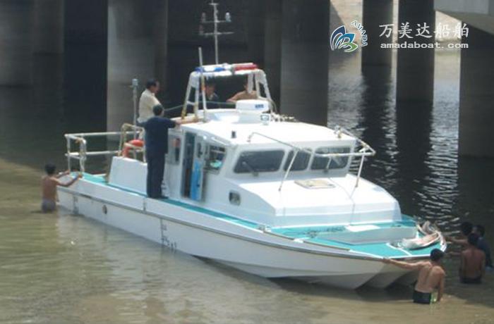 3A1190(Red Hawk)Wave-suppression Trimaran Patrol Boat