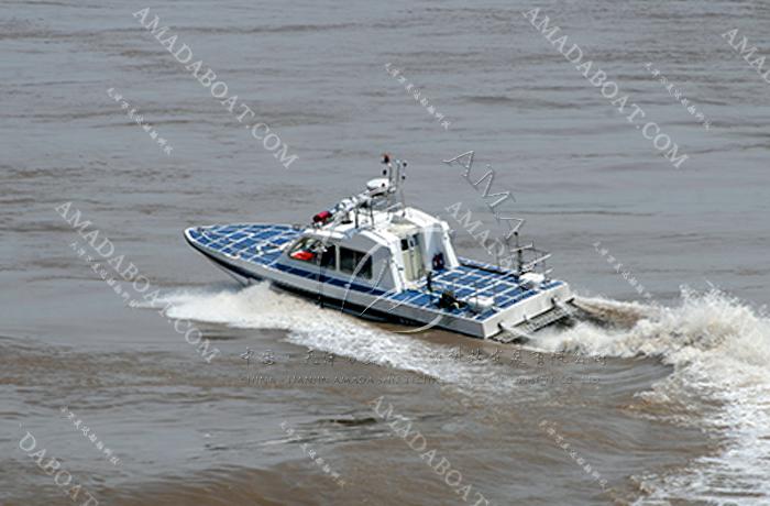 3A1206k (Hunting Knife II) High-speed Monohull Patrol Boat