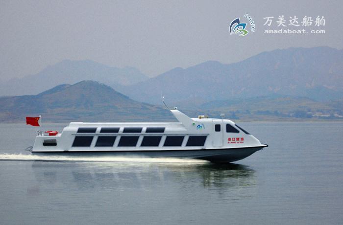 3A1408(Zi Jiang)Shallow-draught Monohull Sightseeing Boat