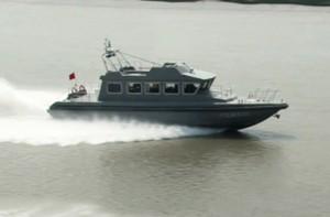 3A1952 (Zheng Qing) Customs Coastguard Motorboat