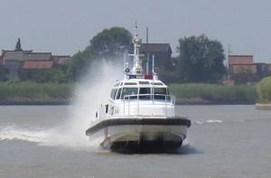 3A1347b (Ling Bo) Wave-suppression Trimaran Cruising Rescue Boat