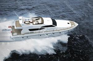 3A2238b(North Gulf)Wave-suppression Trimaran Yacht