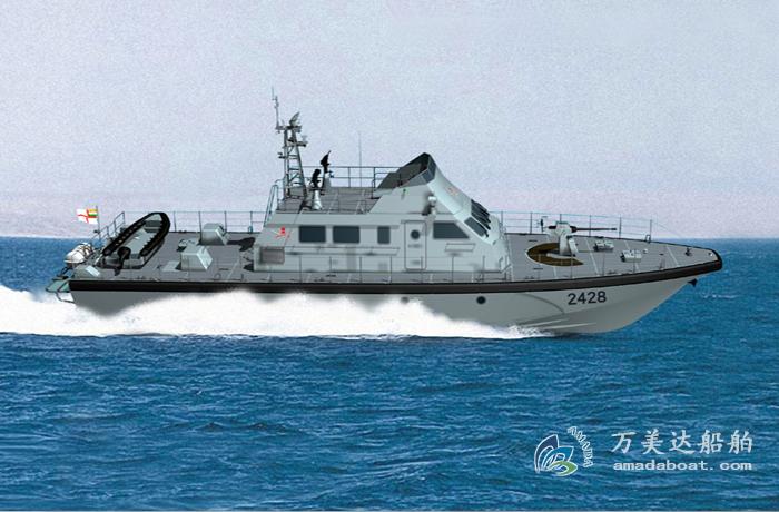 3A2408(Saltwater Crocodile)Coaatal High-speed Patrol Boat
