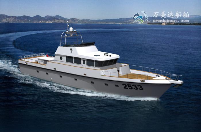 3A2533d (Yellow Bonita) Coastal Work Boat