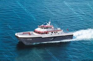 3A2720 (Wind Power) Catamaran Wind Farm Service Vessel