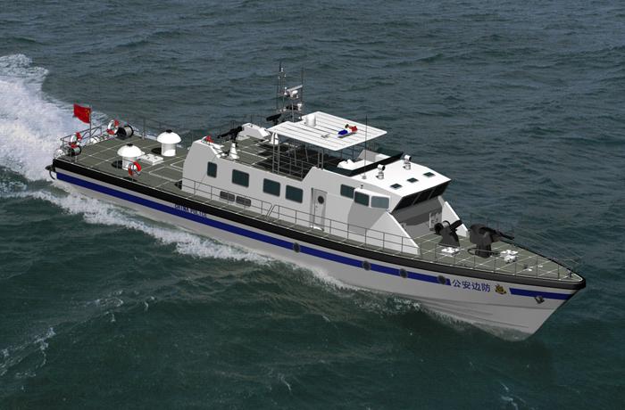 3A3047b(Veyron)CoatalHigh-speed Patrol Boat