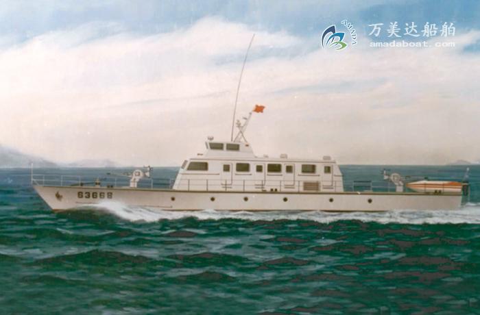 3A3078(Hunter) Monohull Patrol Boat