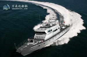 3A3080c(Gyrfalcon II) Offshore Armed Patrol Boat