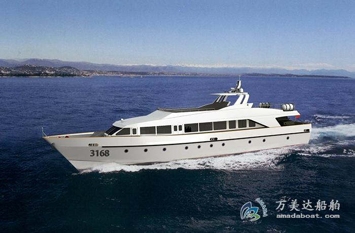 3A3168c(Silk Ⅱ) 110 passengers High-speed Passenger Boat