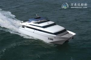 3A3380(Sunset)High-speed Catamaran Passenger Boat