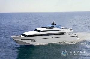 3A3380b (Yong Xing Dao) Catamaran High-speed Passenger Boat