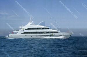 3A4016(Shield)Coastal Multifunctional Commanding Boat