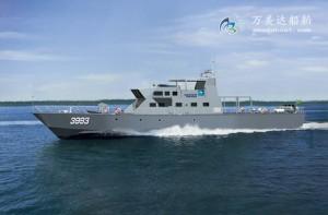 3A4020 (Triumph)Security Patrol Vessel