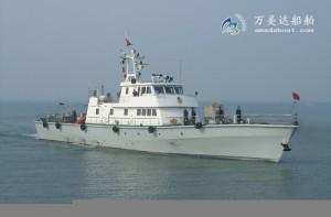 3A4080 (Harpoon) High-speed Monohull Patrol Boat