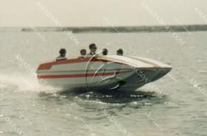 3A420(Lark)Wave-suppression Trimaran Pleasure Boat