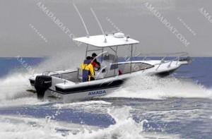 3A775 (Tuna)Monohull Fishing Pleasure Boat