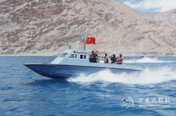 3A930b(Golden Shield)High-speed Armored Catamaran Patrol Boat