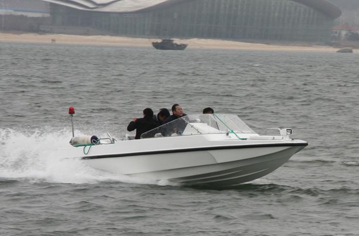 3A550 (Sea Cat) High-speed Ship-borne Boat